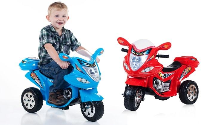 xe moto dien tre em