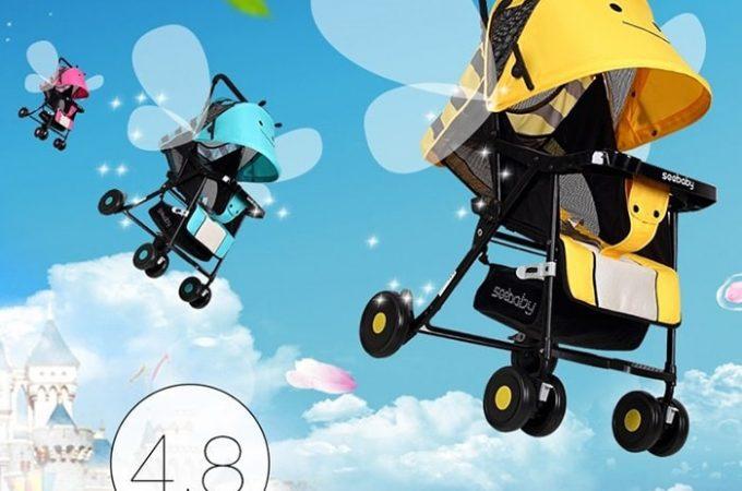 [REVIEW] Xe đẩy Seebaby QQ3 – ưu và nhược điểm