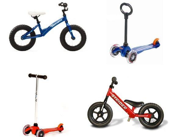 Xe đạp cân bằng và xe trượt scooter, loại nào tốt?