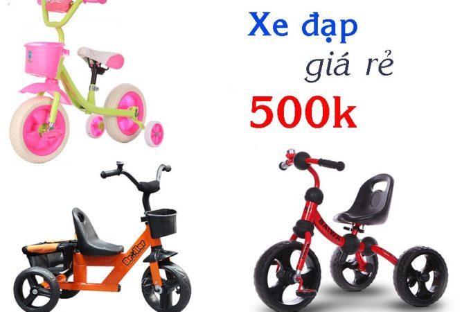 Xe đạp trẻ em giá rẻ 500k