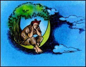 Chú cuội ngồi trên cung trăng