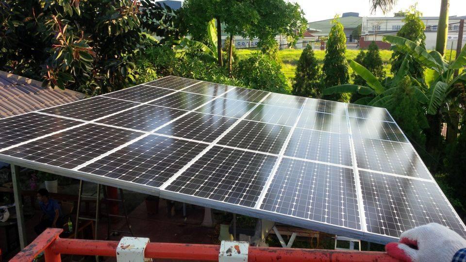 xây dựng tấm pin mặt trời, hệ thống dây điện, Xây dựng nhà ở tấm pin mặt trời