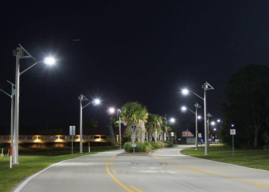 Đèn led pha dành cho đường phố