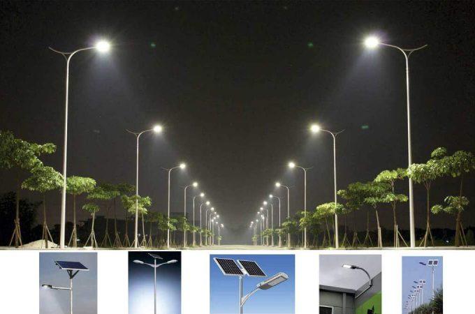 Top 5 ứng dụng năng lượng mặt trời cho đường phố