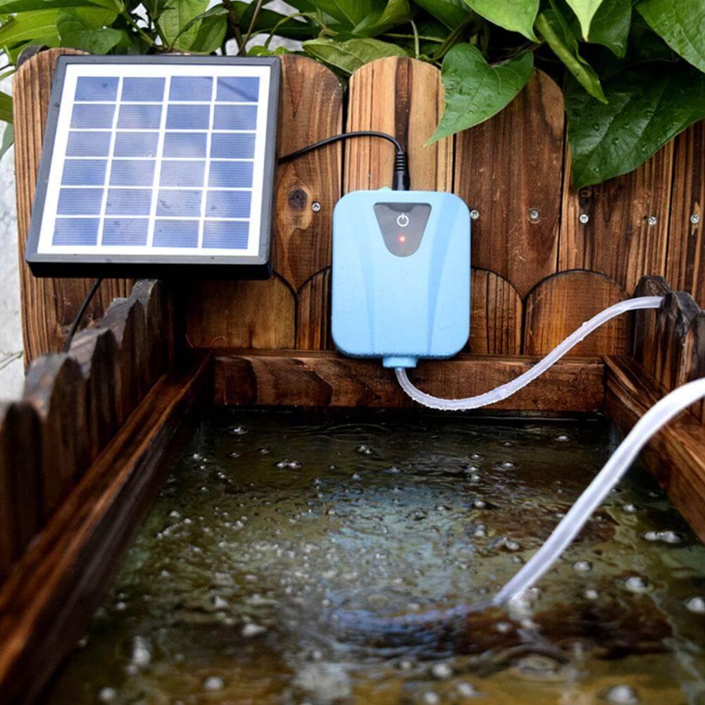 bơm năng lượng mặt trời cho tiêu cảnh