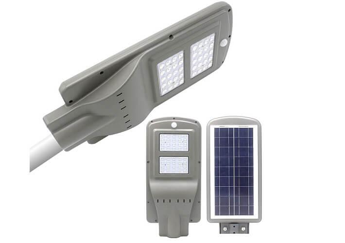 Đèn LED ngoài trời năng lượng mặt trời