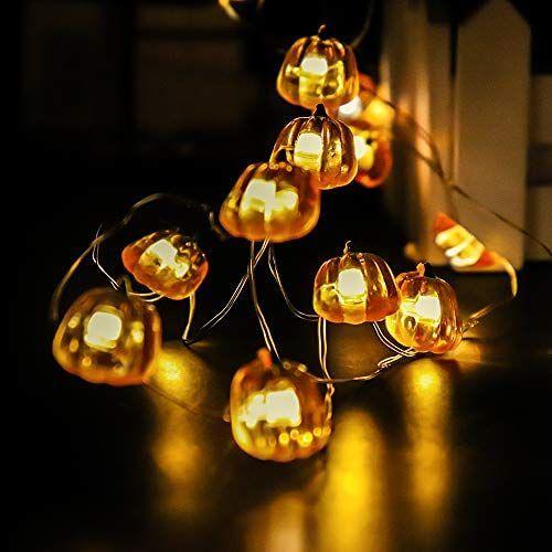 đèn trang trí halloween quả bí ngô
