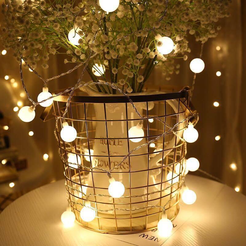 đèn led trang trí bóng tròn